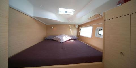 Moorings 380 cabin interior
