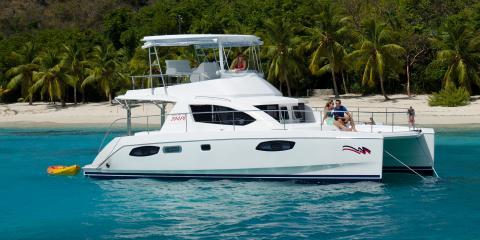 Moorings 394PC moored