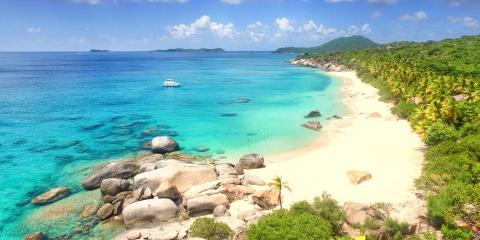 beach in the British Virgin Islands
