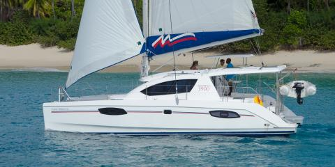 Moorings 3900 port side