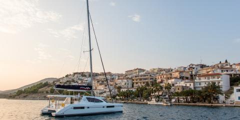 Athens Zea Moorings yacht