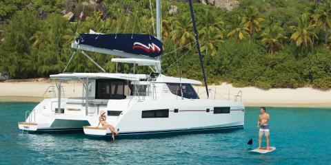 Moorings yacht sailing