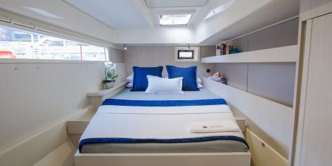 Moorings 4800 cabin interior