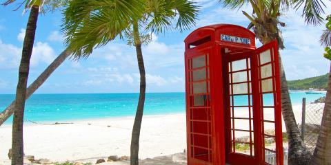 Dickenson Bay pay phone