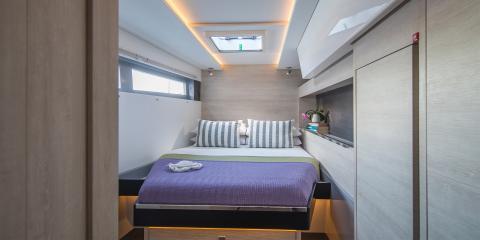 Moorings 5000 cabin