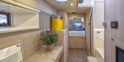 Moorings 433PC cabin interior