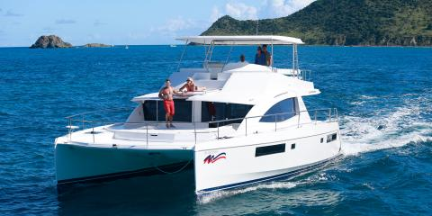 powercat underway in St. Martin