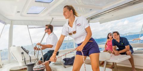 Steering Moorings yacht