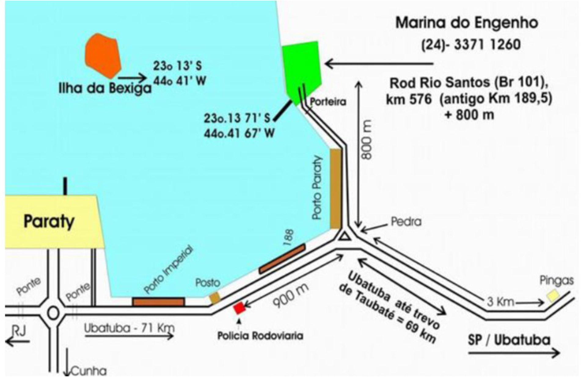 Paraty base map