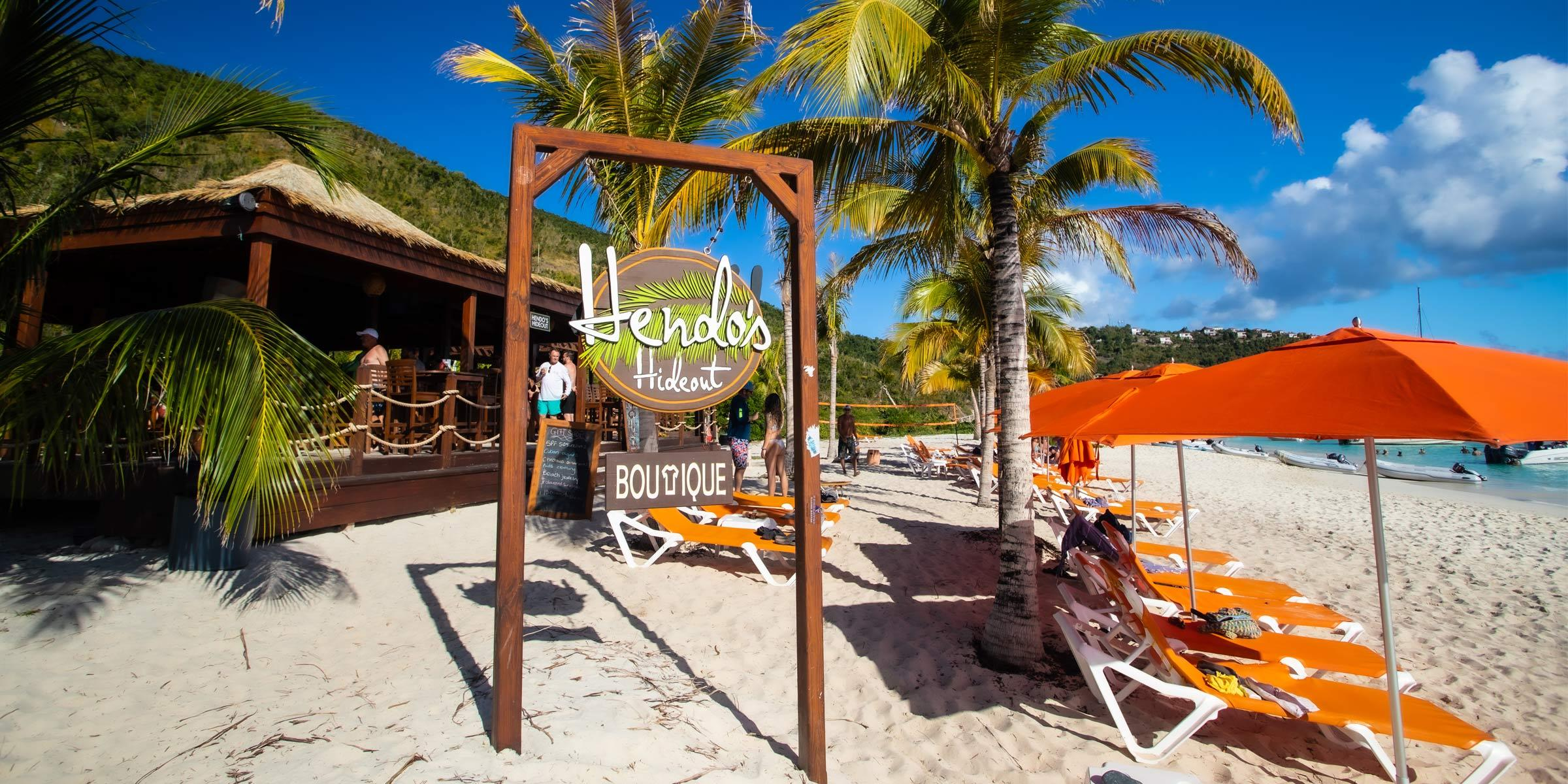 Hendo's Hideout at White Bay in the BVI