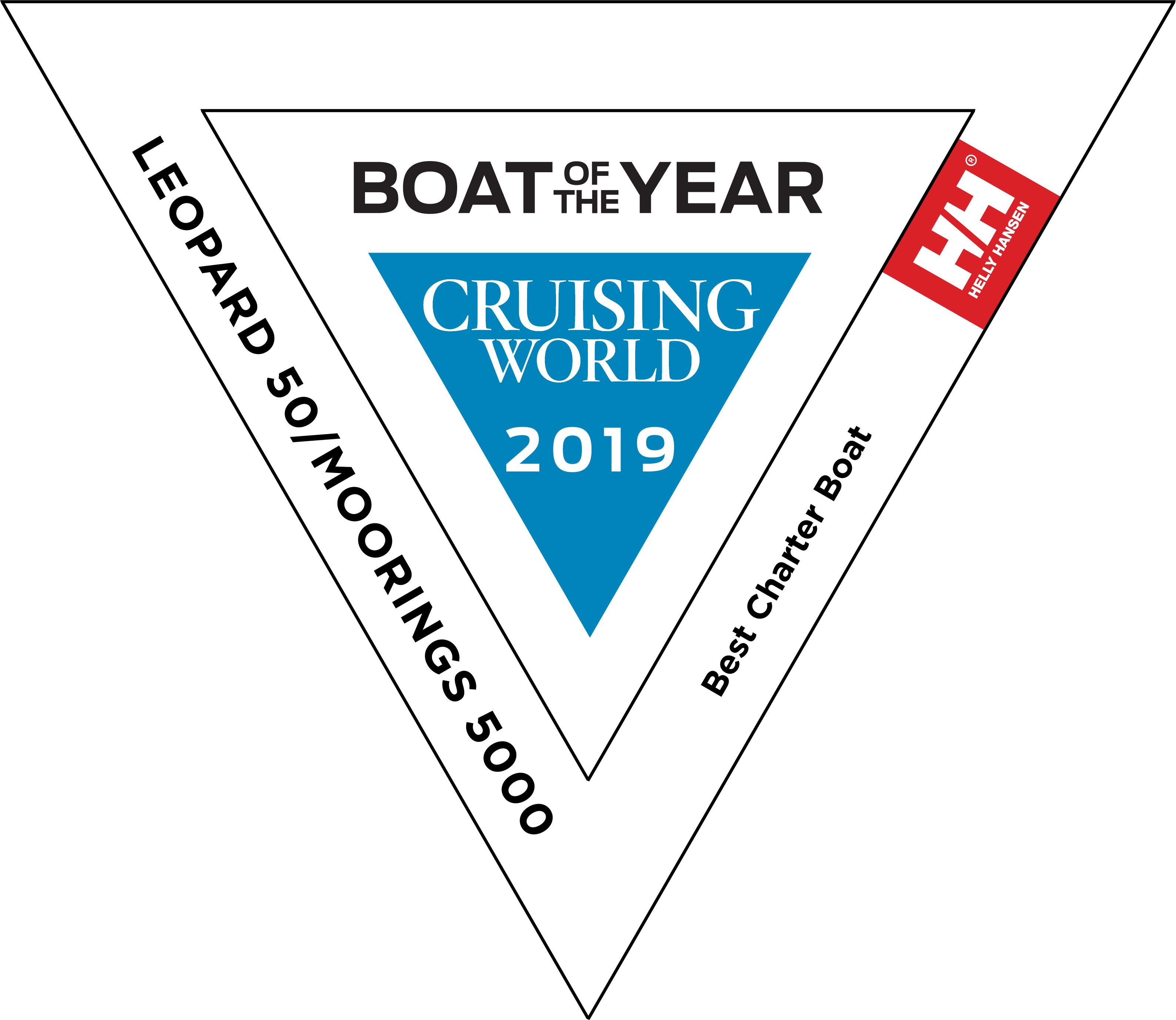 Moorings 5000 - Boat Of The Year