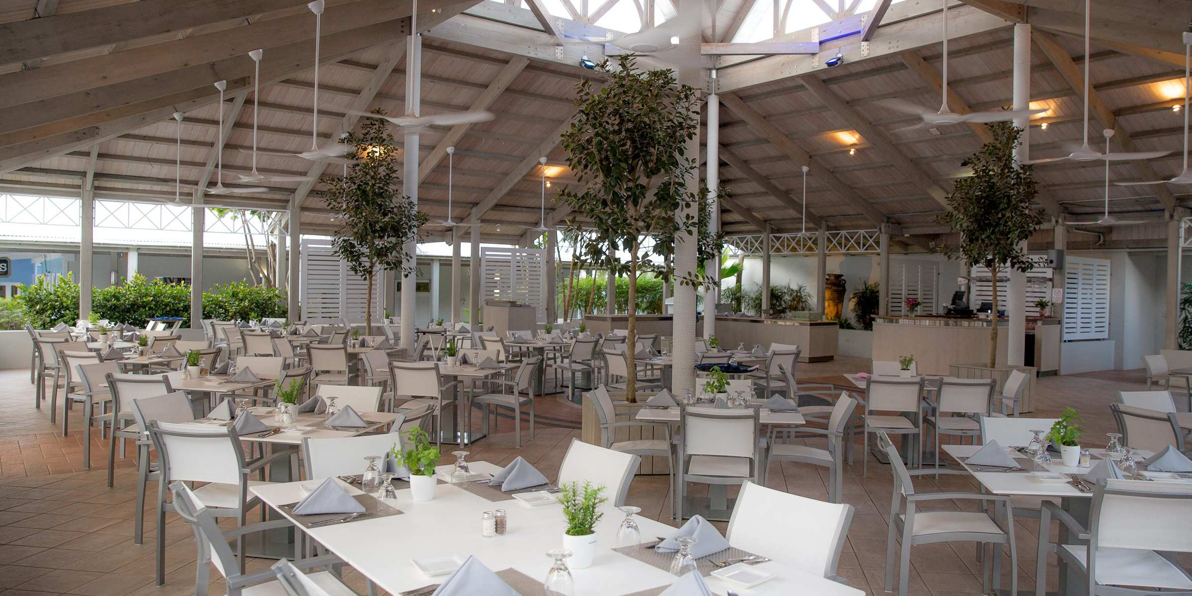 Dining Area Marina Yacht Club Tortola