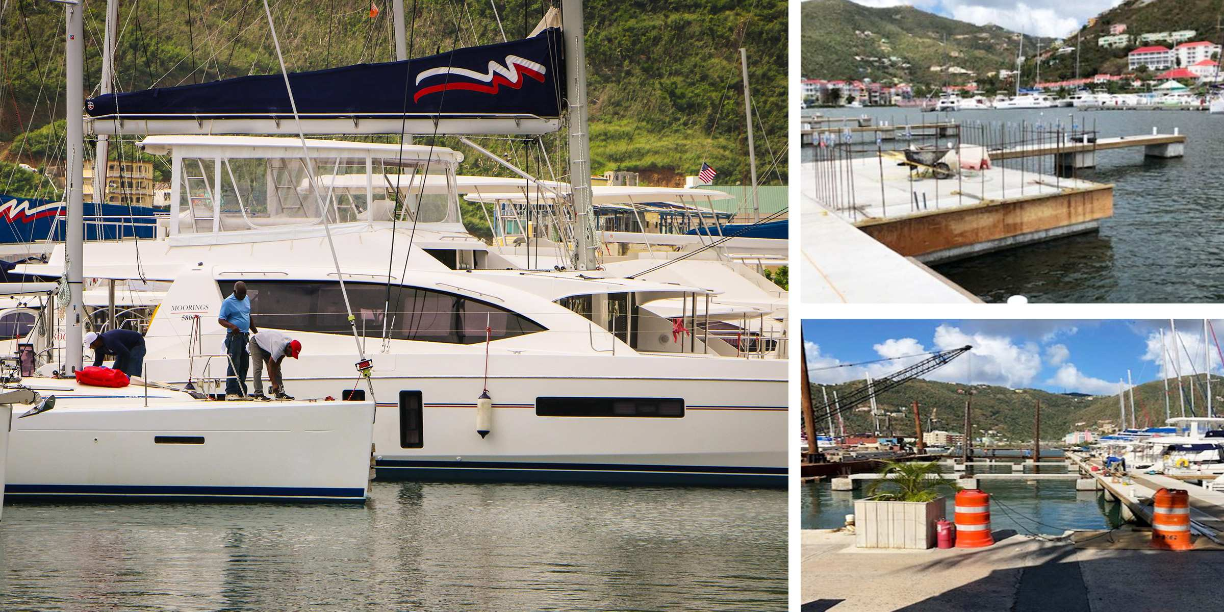 B Dock Repairs Moorings Tortola Base BVI
