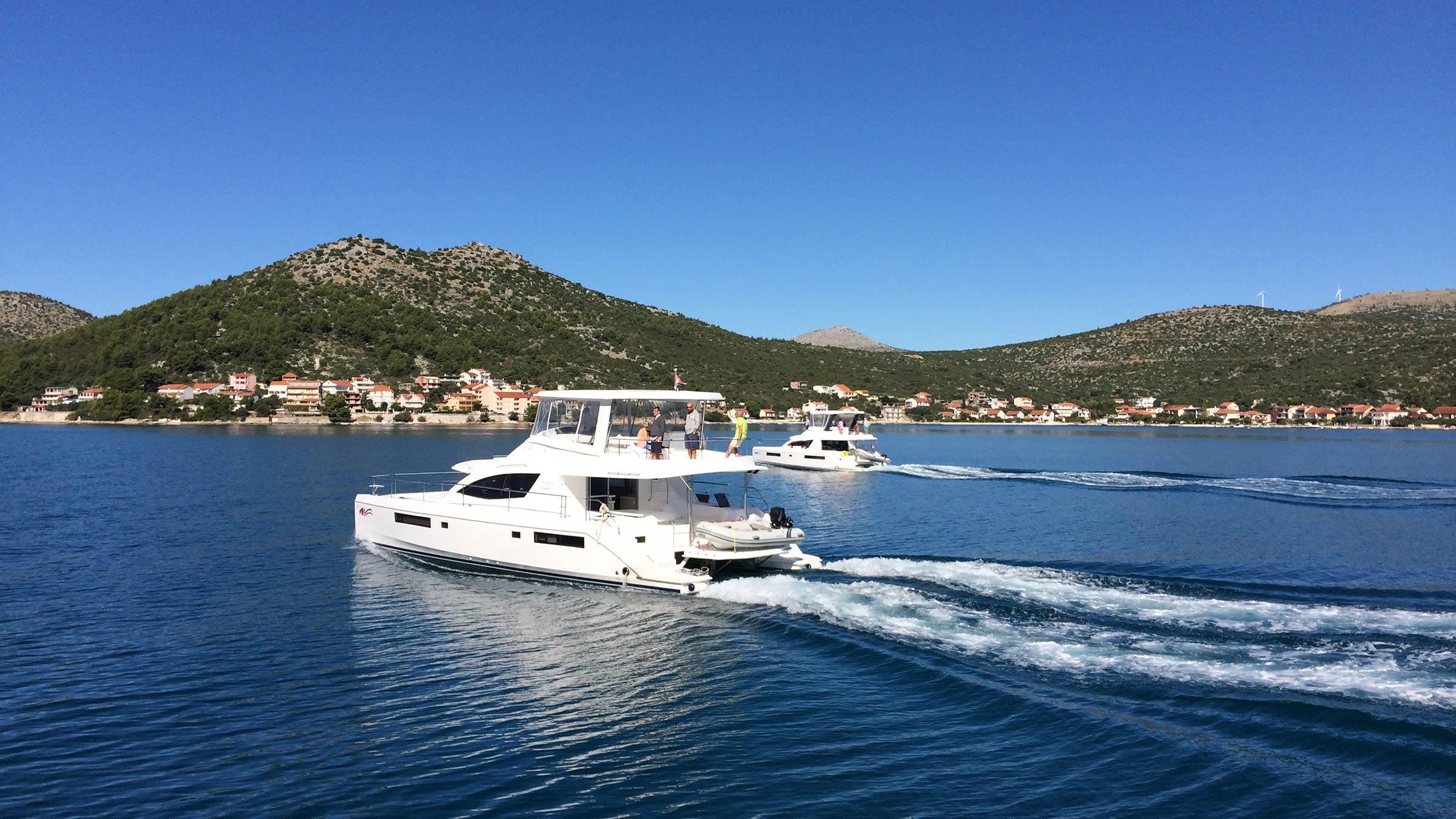 Motoryacht in Kroatien