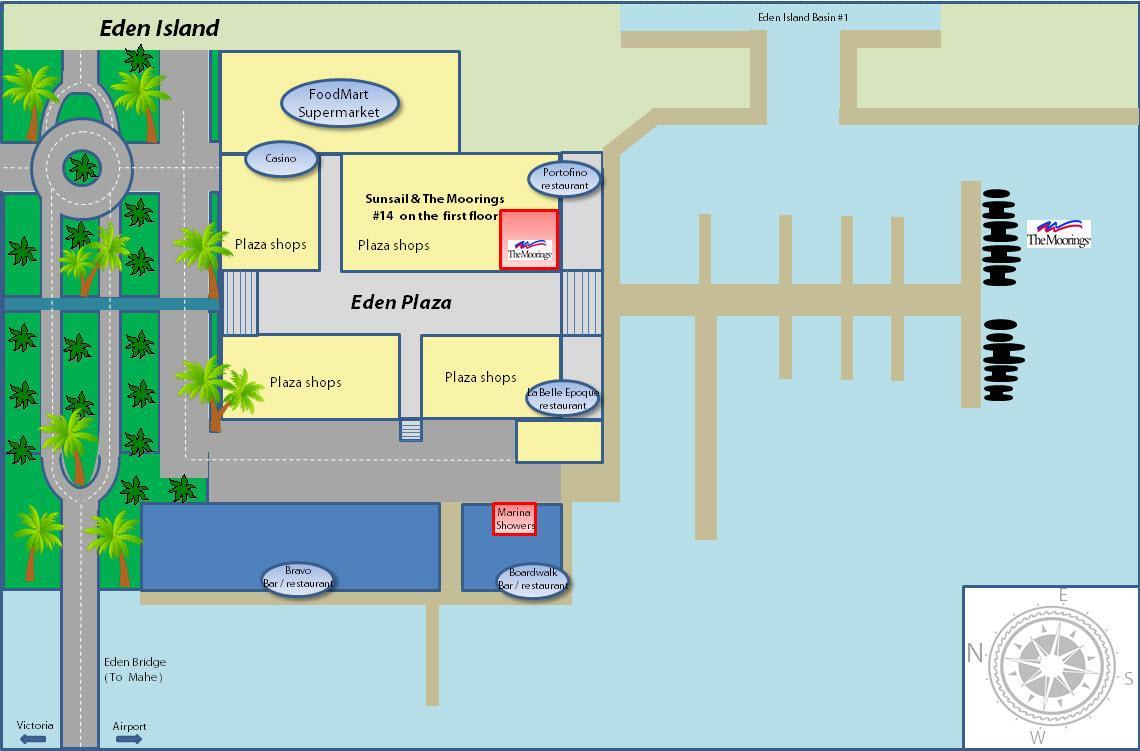 Seychelles base map