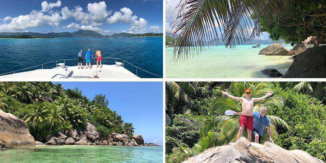 Paradiesische Insel Moyenne - Erster Stop auf der Seychellen Rundreise