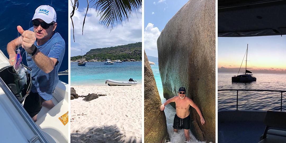 Angeln und Schnorcheln in den Seychellen