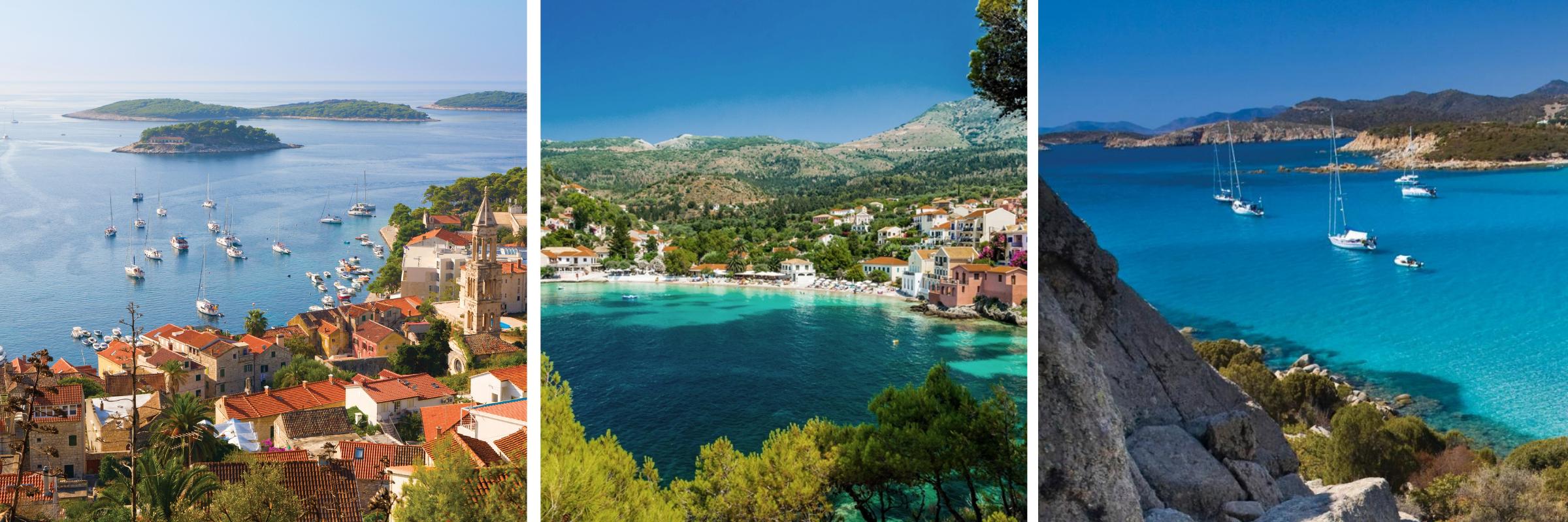 Die schönsten Inseln im Mittelmeer