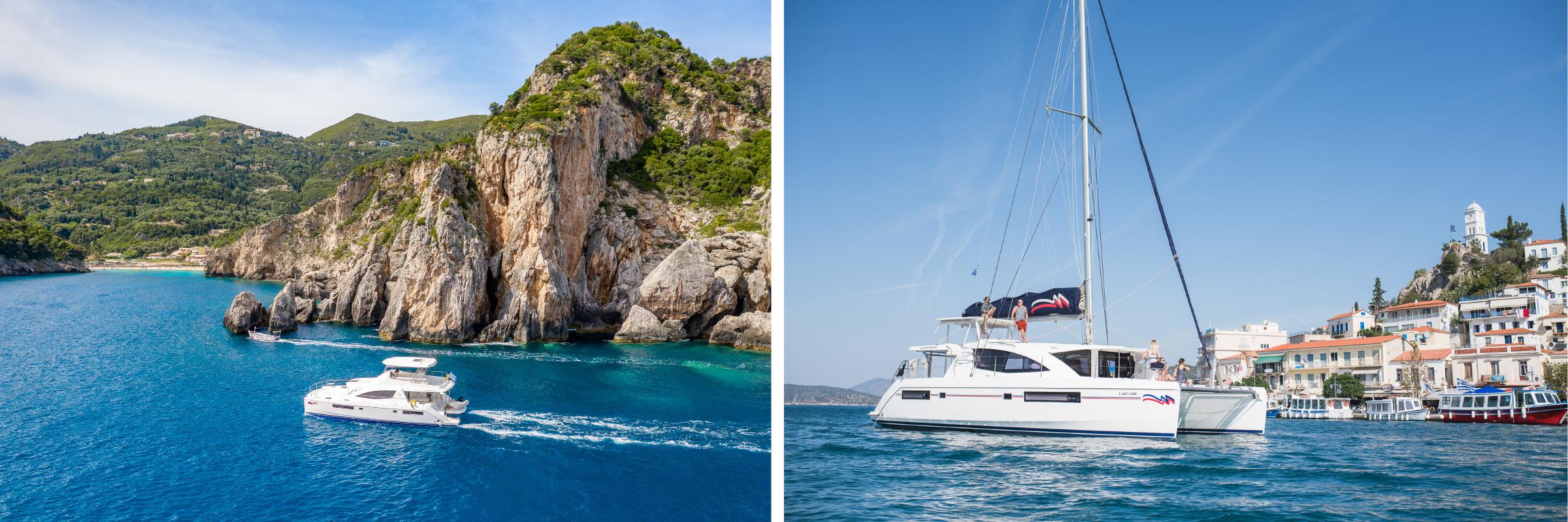 Die schönsten Inseln im Mittelmeer per Yacht erkunden